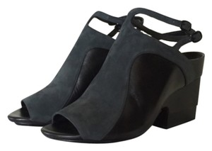 3.1 Phillip Lim Black and evergreen Mules