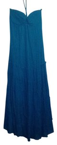 blue Maxi Dress by Forever 21 Maxi Summer