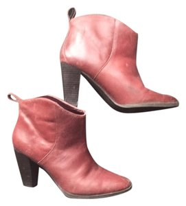 Gap Ankle Red Boots