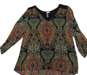 Francesca's Sweetheart Limited Edition Top Multicolor