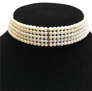 Other 5- Strand Faux Pearl Choker [ Roxanne Anjou Closet ]