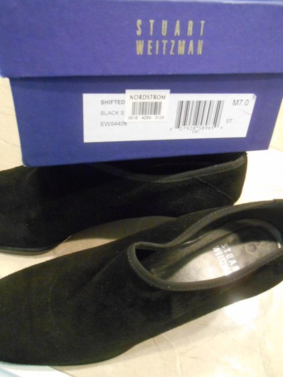 Stuart Weitzman Suede With Box Black Boots