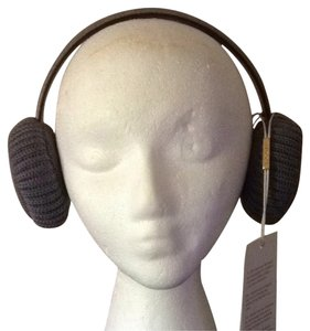 Gucci Gucci Girls Wool Leather Earmuffs
