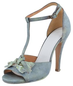 Maison Margiela Blue / Gray Pumps