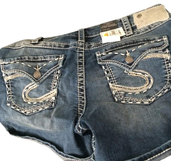 Other Cuffed Shorts blue jean