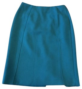 Halogen Nordstroms Pencil Skirt Teal