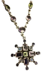 Nicky Butler Multi-gemstone drop necklace