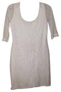 Charlotte Russe short dress White Lace Scoop Back on Tradesy