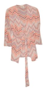 Sweet Pea by Stacy Frati Chevron Zig Zag Wrap Flare Cardigan