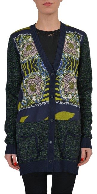 Item - Multi-color Wool Women's Knitted Sweater Cardigan Size 4 (S)