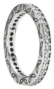 PANDORA Pandora Eternity Ring Clear Sz. 9