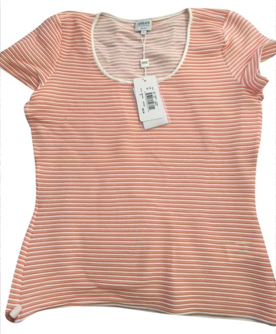 Preload https://item5.tradesy.com/images/armani-collezioni-top-mango-and-white-1001954-0-0.jpg?width=400&height=650