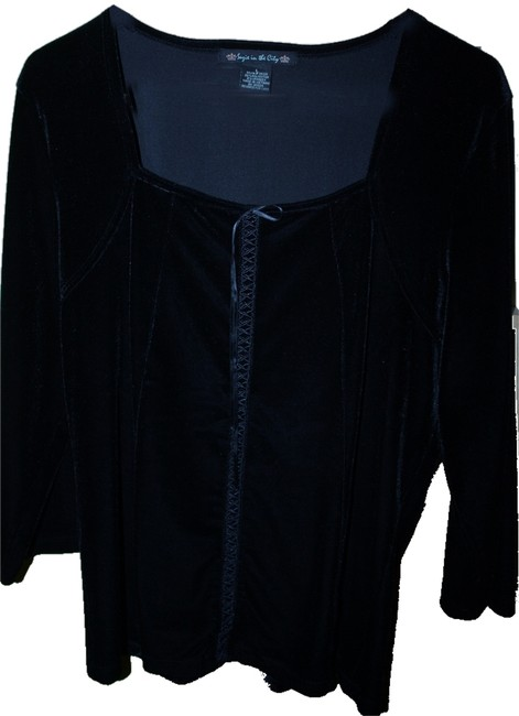 Almost Famous Clothing Black Top Almost Famous Clothing Black Top Image 1