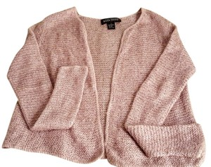 Ellen Tracy Beaded Shimmery Mohair Cardigan