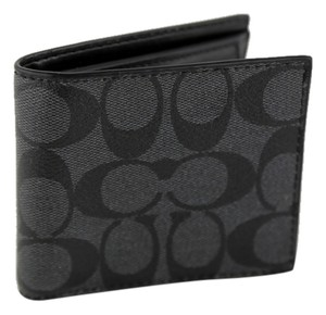 Coach * Coach Coin Bifold Wallet in Signature Canvas