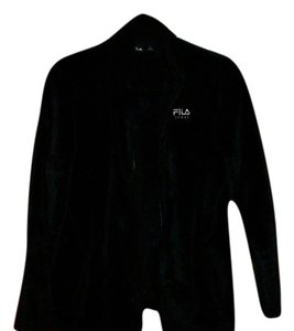 Fila Plush Ladies Large black Jacket