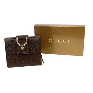Gucci Gucci Guccissima Leather Horsebit French Zip Around Wallet