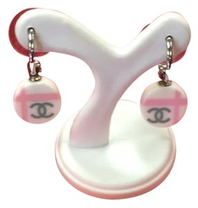 Chanel Hoop CC Logo Earrings