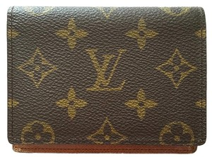 Louis vuitton business card holders up to 70 off at tradesy louis vuitton louis vuitton lv logo monogram business card holder id credit card slots colourmoves