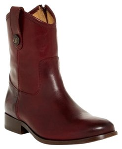 Frye Brown Melissa Bordeaux Boots