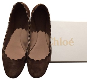 Chloé Brown Flats