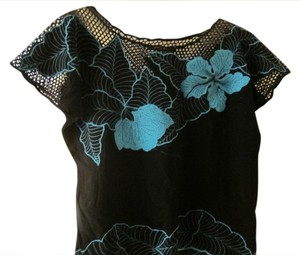 Ark & Co. Top Blue and Black