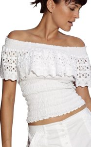Lirome Country Summer Beach Top White