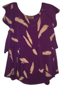Karen Zambos Top Purple
