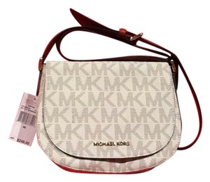 Michael Kors Messager Crossbody Mk Vanilla Messenger Bag