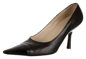 Chanel Patent Leather black Pumps