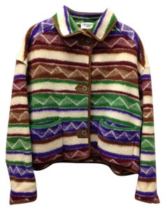 Missoni Fleece Designer Italy Not From Target Multicolor Blazer