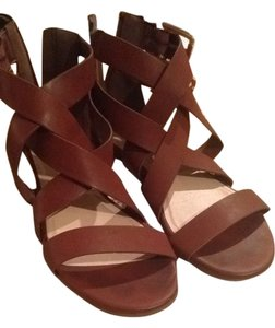 JustFab Sandal Gold cognac Sandals
