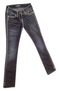Silver Jeans Co. Studded Boot Cut Jeans-Dark Rinse