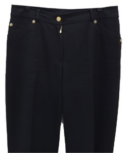 St. John Straight Pants Black