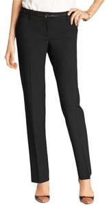 Ann Taylor Leg Stretch Office Straight Pants Black