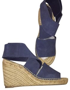 Ralph Lauren indigo blue Wedges