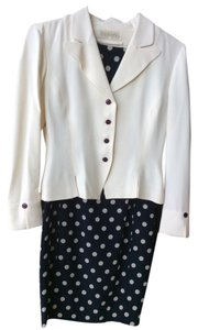 Dana Buchman Blazer Sleevless And Paired Jacket Dress