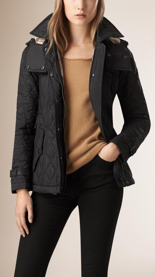 Burberry Brit Classic And Chic New Short Finsbridge Quilted Coat