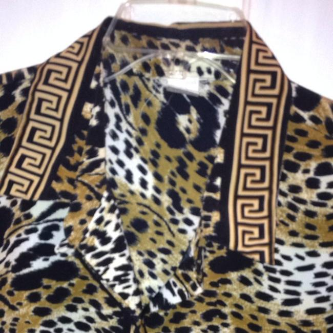Other Button Down Shirt Cheetah