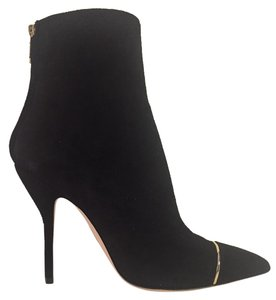 Paul Andrew Ares Suede Bootie Italy Black Boots