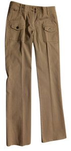 Burberry Straight Pants Light tan