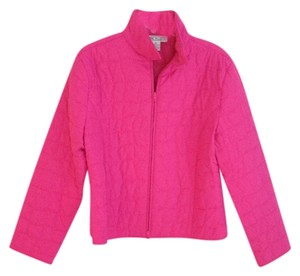 Irene Allison Fushia Quilted Pink Jacket