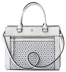 White Kate Spade Crossbody Bag 107
