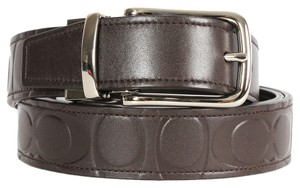 Coach COACH LEATHER CUT TO SIZE REVERSIBLE BELT (boxed)(SHIP VIA PRIORITY MAIL)