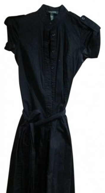 Preload https://item4.tradesy.com/images/lauren-ralph-lauren-black-cuffed-sleeve-belted-knee-length-workoffice-dress-size-4-s-10033-0-0.jpg?width=400&height=650