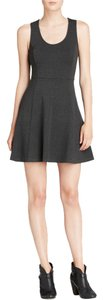 Joie short dress gray Jersey on Tradesy