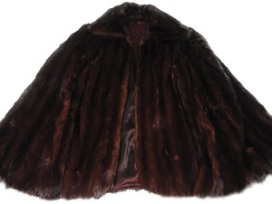 Mink Custom made Fur Shrug Fur Coat/cape Soft Cape