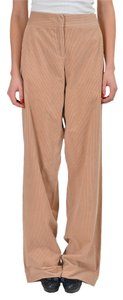 John Galliano Straight Pants Beige