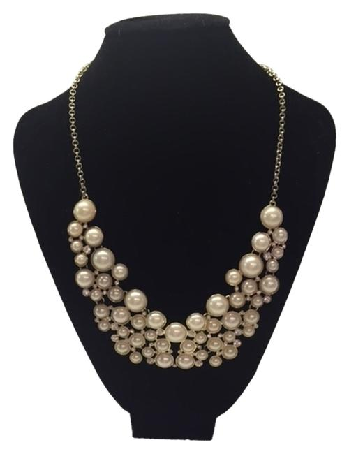 Item - White Pearls and Diamonds Faux Faux Just In Time For Those Special Parties Necklace
