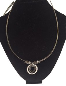 Jones New York Faux diamond necklace Jones New York, Original Diamond and loop.